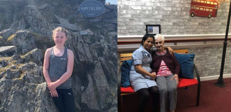 10-year-old conquers Snowdon for great grandmother