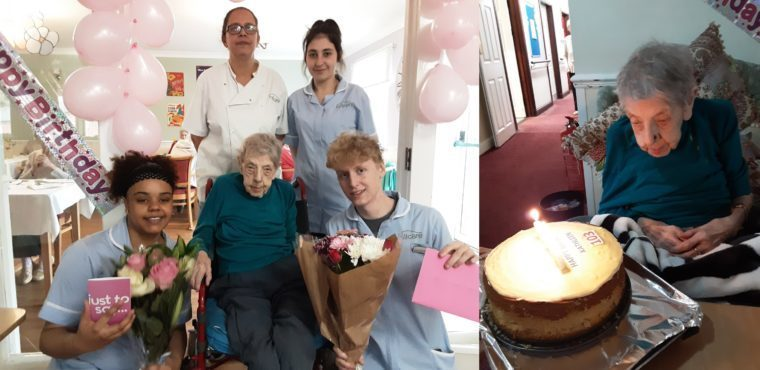 Tea party marks Kathleen's 103rd birthday