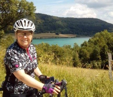 Wendy's London to Paris cycle for Alzheimer's Society