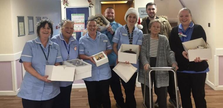 Cake competition won by care home