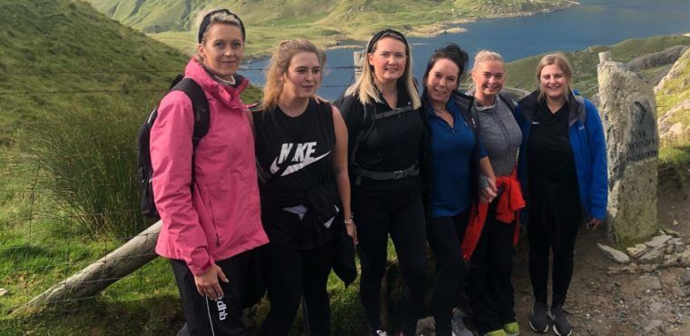 Care home staff climb mountain Snowdon for their residents
