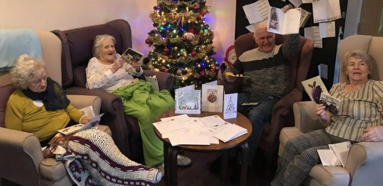 Elderly receive hundreds of Christmas cards after appeal