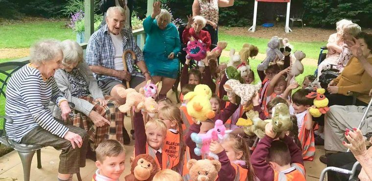 Teddy bears picnic brings generations together