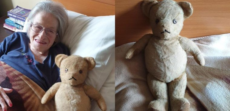 Teddy bear reunited with owner over 60 years later