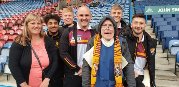 Dream come true for lifelong Huddersfield Giants fan