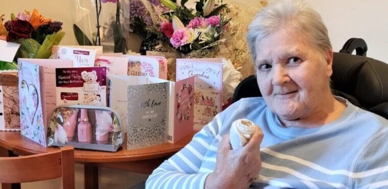 Sign language helping care home residents communicate