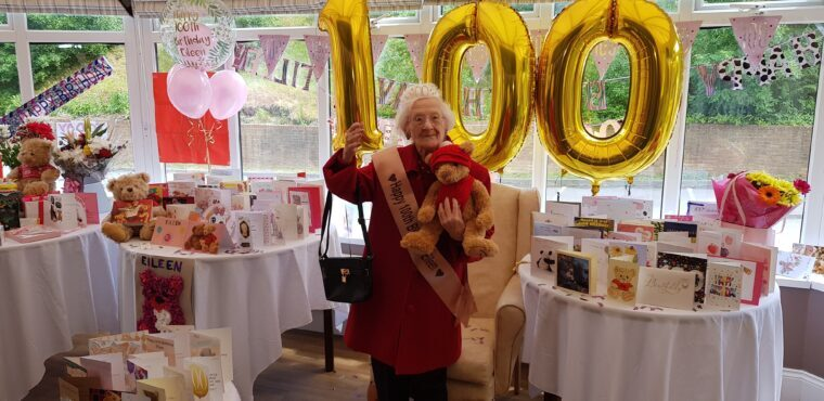 World wishes Eileen well on her 100th birthday