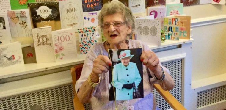 Worsley resident receives over 400 birthday cards to mark her 100th Christmas eve