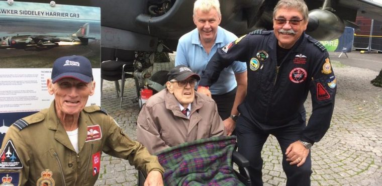 WW2 hero Walter Bentley celebrated at RAF100 event