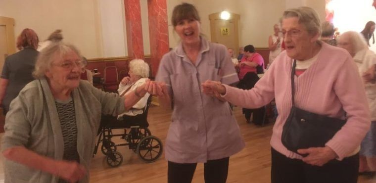 Dancing down memory lane for elderly with dementia