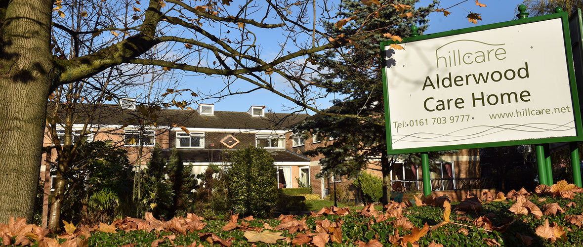 Alderwood residential care home Worsley Machester