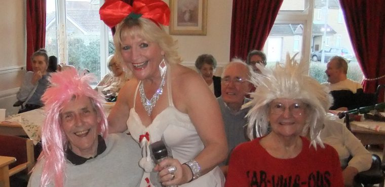 Carols and Christmas party for Peterlee care home residents