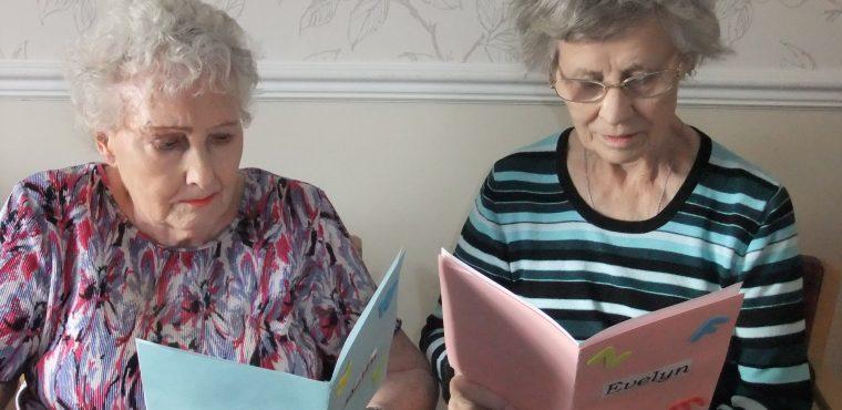 Elderly share fond memories for Storytelling Week