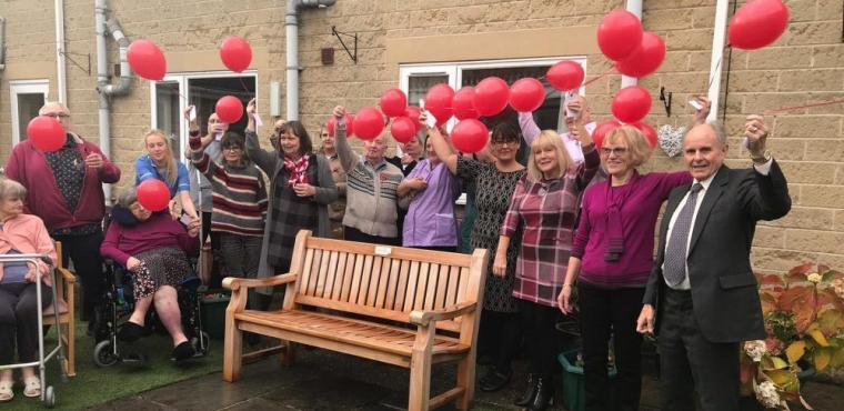 Care home's remembrance ceremony for former resident Jill