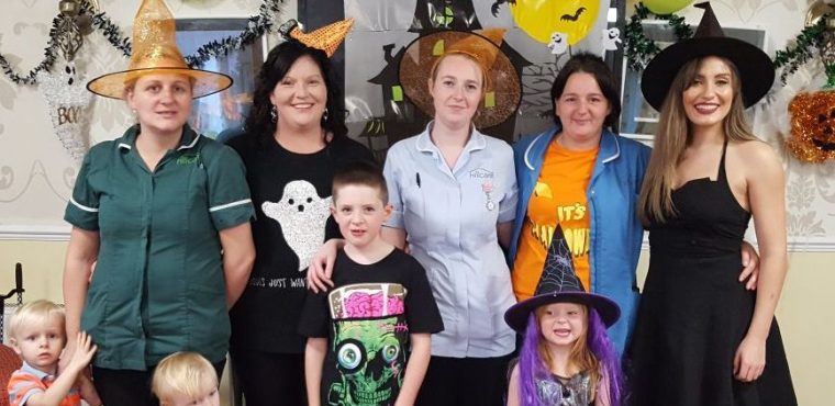 Happy Halloween party for Chesterfield care home
