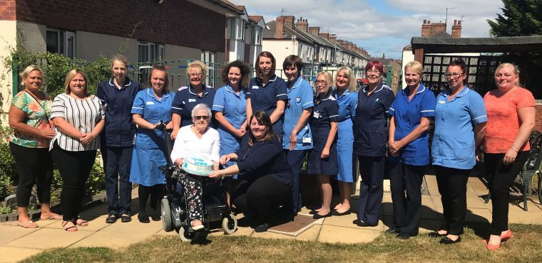 Teesside care home throws party for NHS 70th anniversary