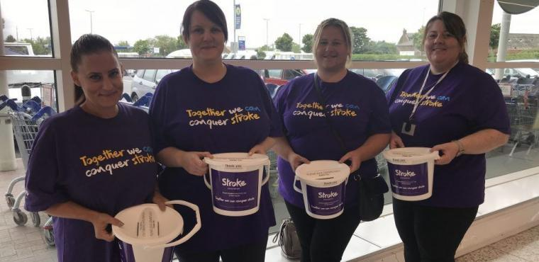 Teesside Tesco bag pack raises funds for Stroke Association
