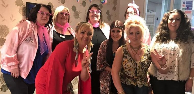 1970s brought back at The Beeches Care Home