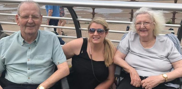 Blackpool trip brings back memories for Mary and Les