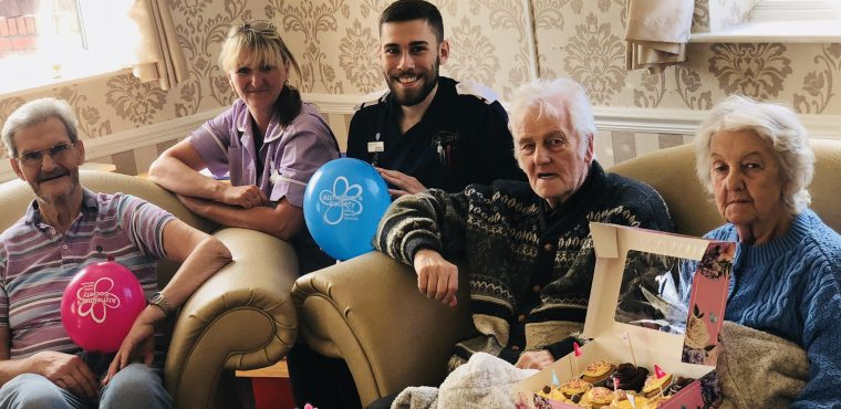 Care home's cupcake sale raises funds for dementia fight