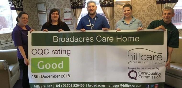 "Watchdog notes ""genuine warmth"" at Rotherham care home"