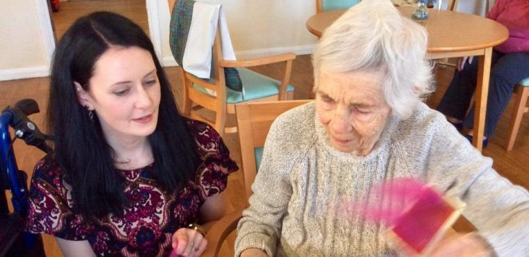 Farm's dementia friendly workshops for arty elderly