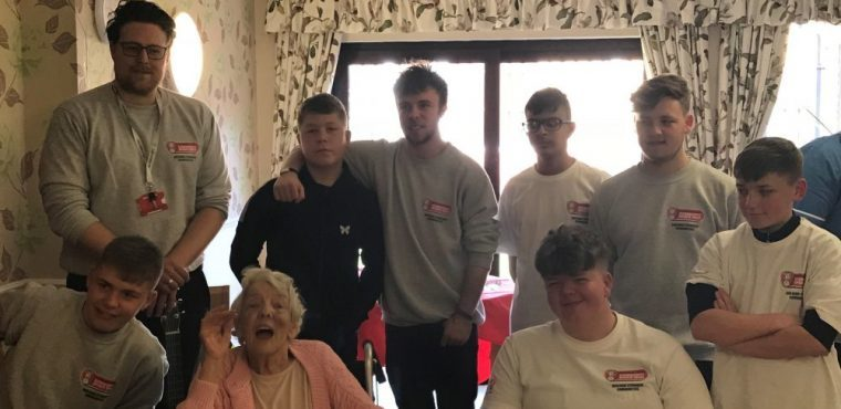 Teens visit elderly for Millers community project