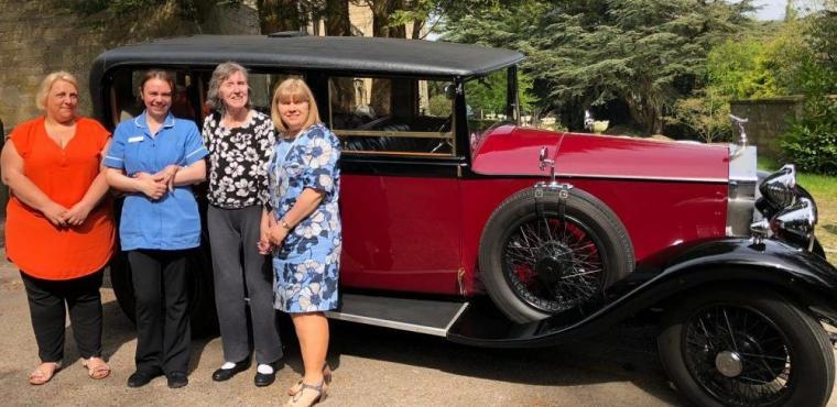 Driving into history with care home's vintage car show