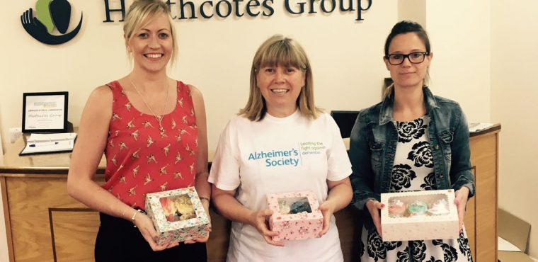 Hill Care cake sale adds to Alzheimer's Society fundraising