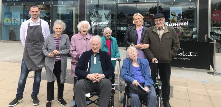 Chocoholic care home residents mark World Chocolate Day
