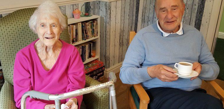 Mapplewell home's Macmillan Coffee Morning success