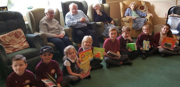 Stories bring young and elderly Barnsley bookworms together