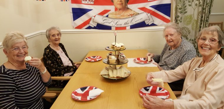 Care home holds royal celebration for Queen and Duke