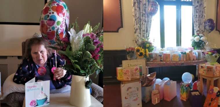 Cards and gifts arrive from across the UK for Elspeth's birthday
