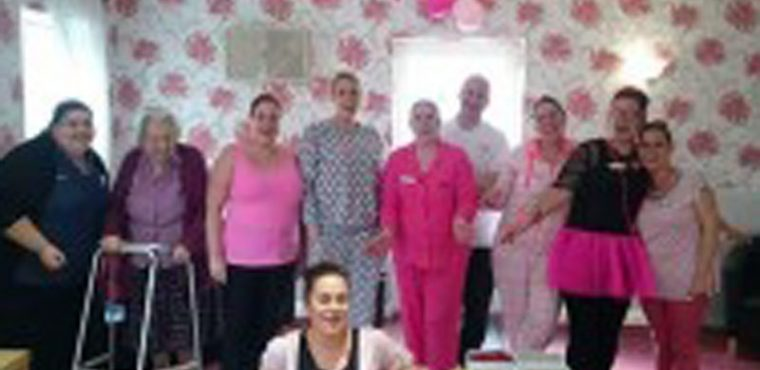 The Beeches raises over £400 on Wear It Pink Day