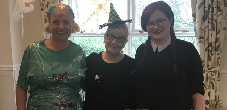 Sheffield care home gets into the Halloween spirit