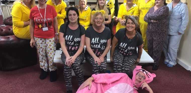 Widnes care home's Children in Need fundraiser
