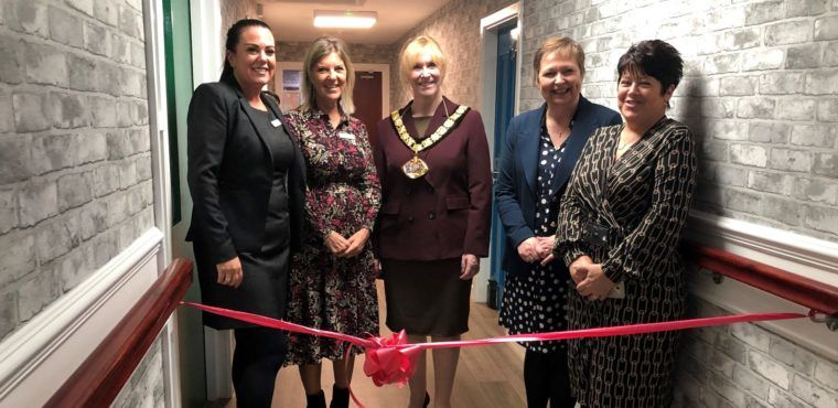 Mayor cuts ribbon on revamped dementia care facility