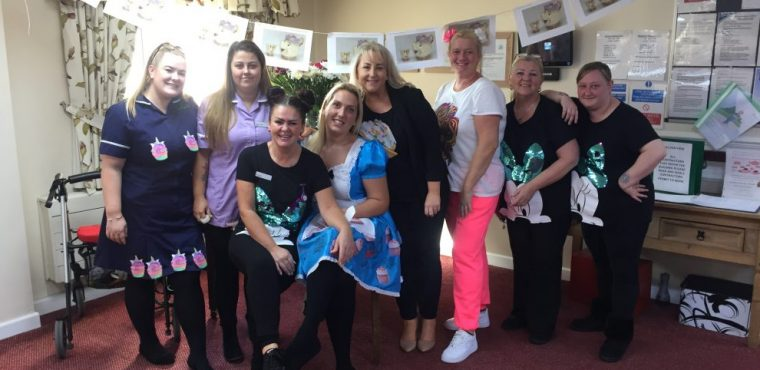 Cupcake week celebrations at Widnes care home