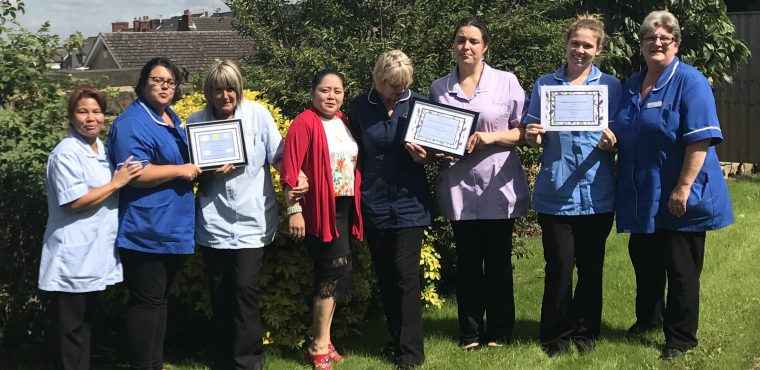 County Council recognise premium dementia care at Chesterfield homes