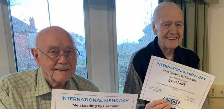 International Men's Day marked at Chesterfield care home