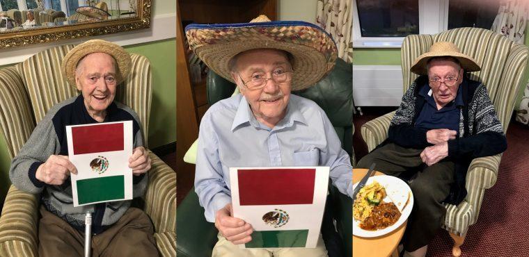 Mexico comes to Derbyshire care home