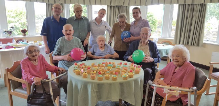 Hill Care homes take part in charity cupcake sale