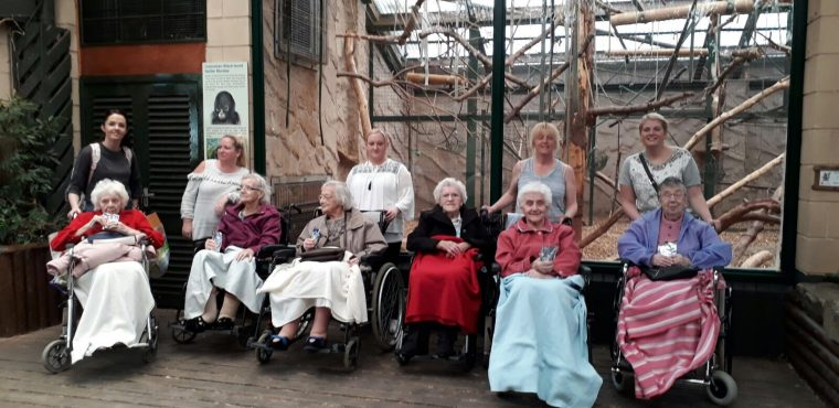 Zoo visit for Halton View Care Home residents