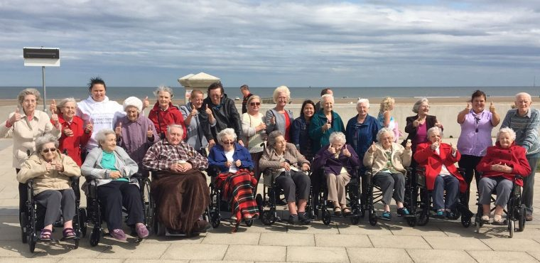 A trip to the seaside for Teesside care homes