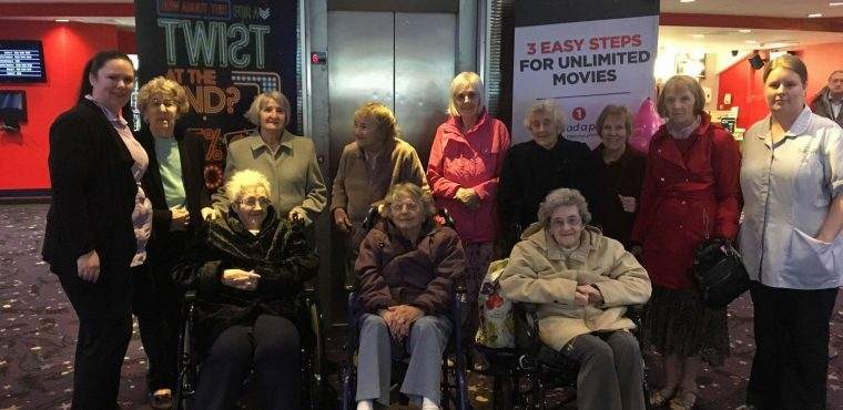 Teesside residents enjoy trip to cinema during Dementia Awareness Week