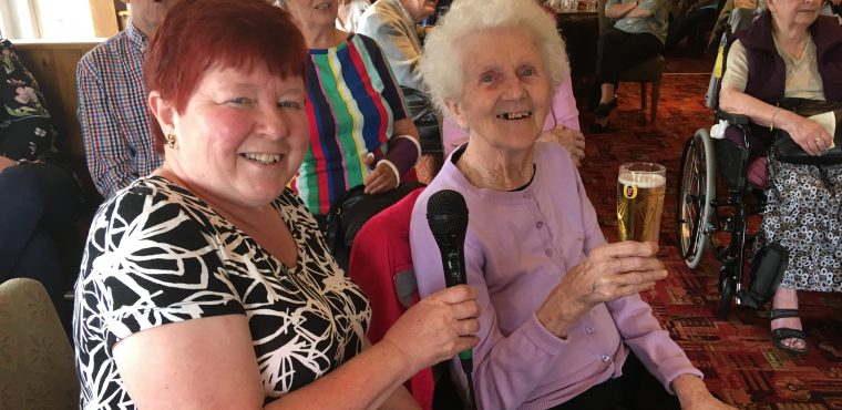National Beer Day celebrated by Teesside care home residents