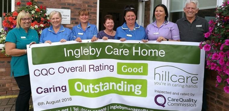 Outstanding care at Teesside care home, says CQC