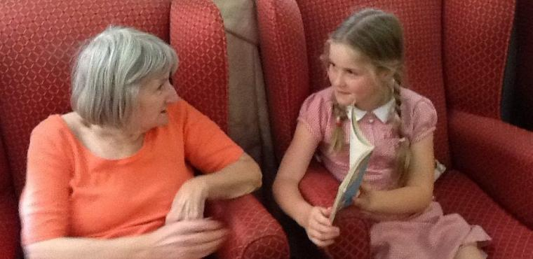 Reading group launched to bring young and elderly together