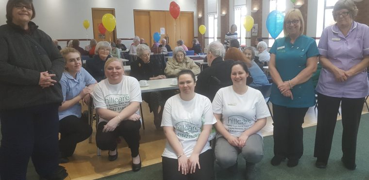 Care home coffee morning raises hundreds for charity